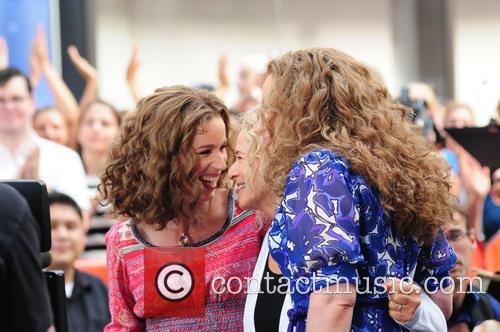 Abby Mueller, Carole King and Chilina Kennedy 10