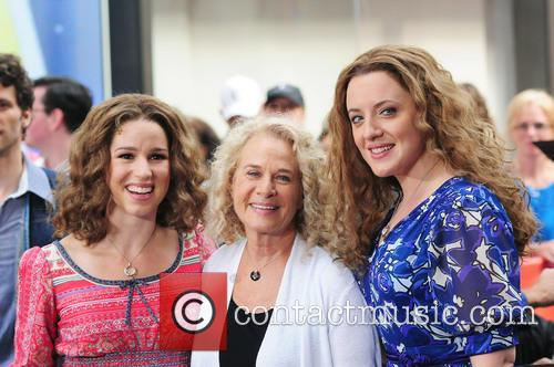 Abby Mueller, Carole King and Chilina Kennedy 1