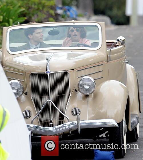 Kristen Stewart and Jesse Eisenberg 6