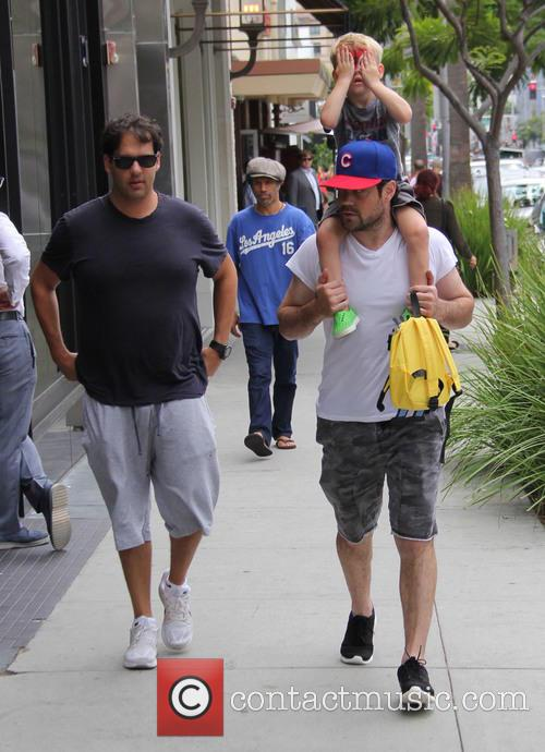 Mike Comrie and Luca Cruz Comrie 6