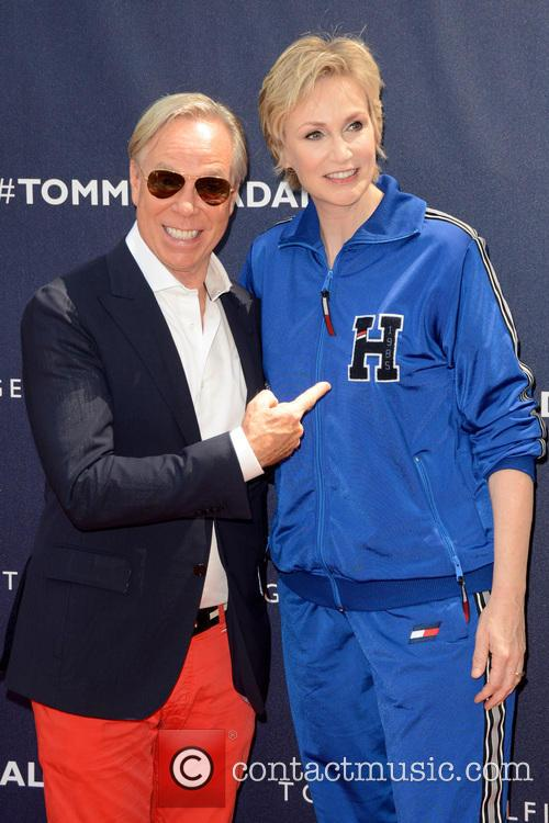 Tommy Hilfiger and Jane Lynch 2