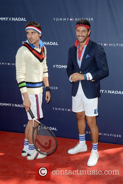 Tommy Hilfiger, Noah Mills and Rafael Nadal 2