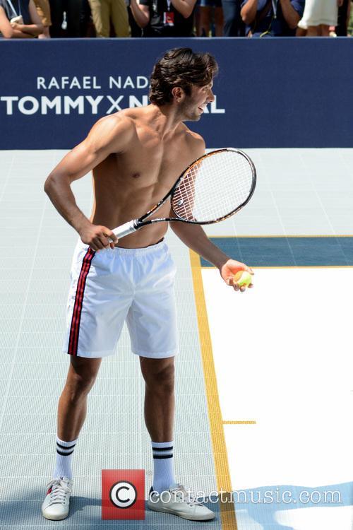 Tommy Hilfiger, Akin Akman and Rafael Nadal 7