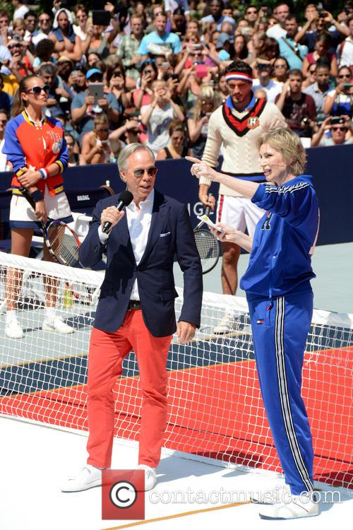 Tommy Hilfiger and Jane Lynch 1