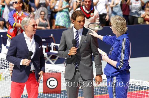 Tommy Hilfiger, Rafael Nadal and Jane Lynch 2