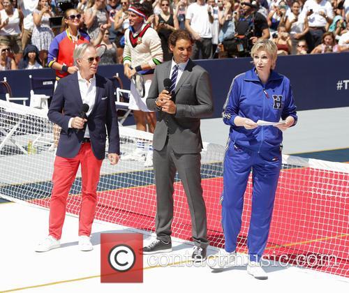 Tommy Hilfiger, Rafael Nadal and Jane Lynch 1
