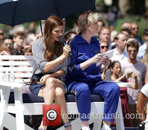 Lake Bell and Jane Lynch 2