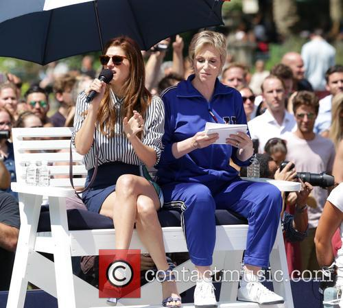 Lake Bell and Jane Lynch 1