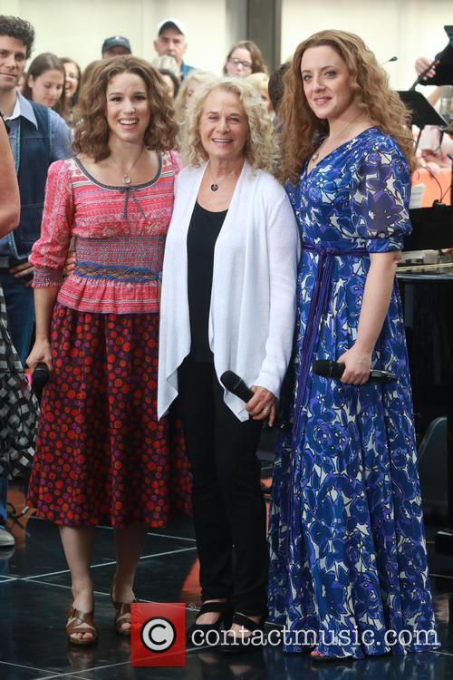 Carole King, Chilina Kennedy and Abby Mueller 1