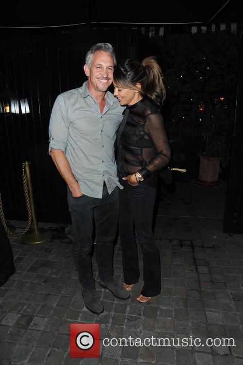 Gary Lineker and Danielle Lineker 2