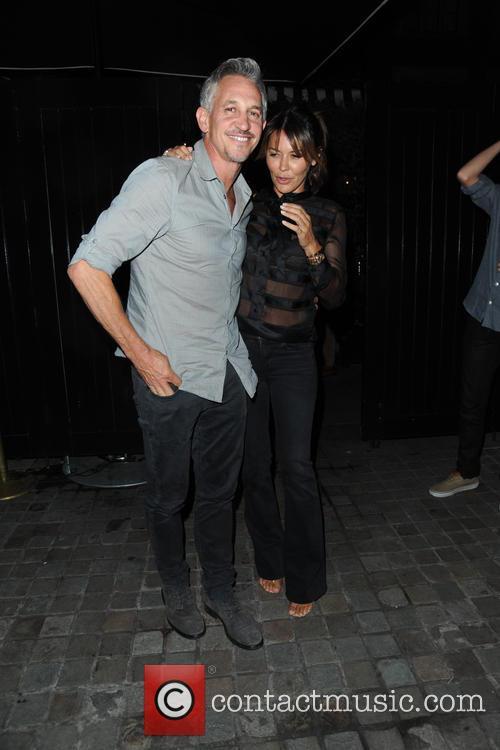 Gary Lineker and Danielle Lineker 9