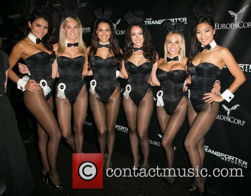 Hiromi Oshima, Miss September 2012 Alana Campos, Miss February 2008 Michelle Mclaughlin, 2013 Playmate Of The Year Raquel Pomplun, Miss March 2013 Ashley Doris, 2015 Playmate Of The Year Dani Mathers, Playboy and The Transporter