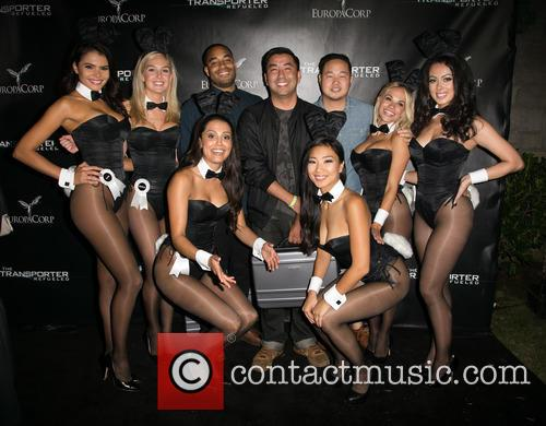 Hiromi Oshima, Miss September 2012 Alana Campos, Miss February 2008 Michelle Mclaughlin, 2013 Playmate Of The Year Raquel Pomplun, Sweepstakes Winners Justin Thomas, Koichi Sanchez, And Mike Kim, 2015 Playmate Of The Year Dani Mathers, Miss March 2013 Ashley Doris, Playboy and The Transporter 2