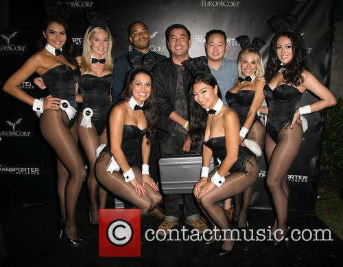 Hiromi Oshima, Miss September 2012 Alana Campos, Miss February 2008 Michelle Mclaughlin, 2013 Playmate Of The Year Raquel Pomplun, Sweepstakes Winners Justin Thomas, Koichi Sanchez, And Mike Kim, 2015 Playmate Of The Year Dani Mathers, Miss March 2013 Ashley Doris, Playboy and The Transporter 1