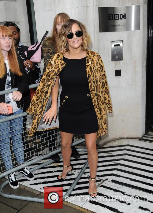 Caroline Flack at BBC Radio 2