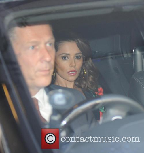 Cheryl Fernandez Versini out in London