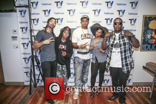 Curtis Young, Edidon, Dj Don Juan, Chaunte Wayans and Deva Pink 2