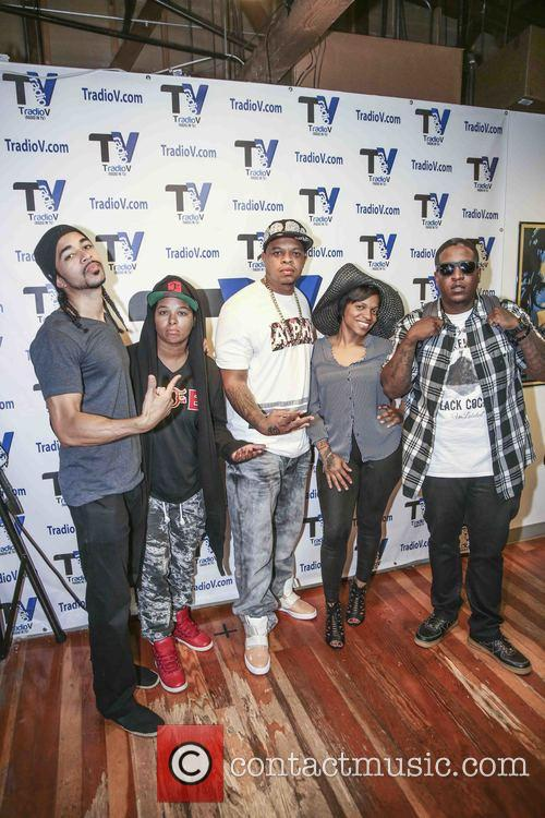 Curtis Young, Edidon, Dj Don Juan, Chaunte Wayans and Deva Pink 5