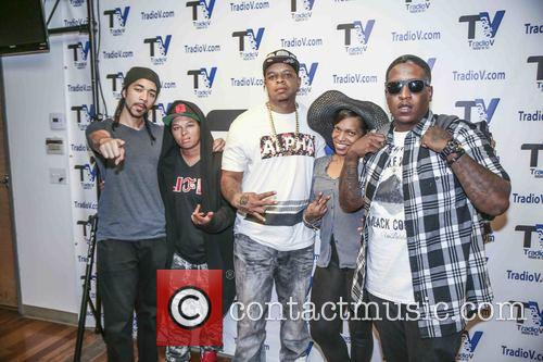 Curtis Young, Edidon, Dj Don Juan, Chaunte Wayans and Deva Pink 1