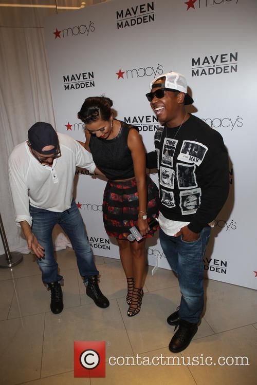 Steve Madden, Julissa Bermudez and Ja Rule 1