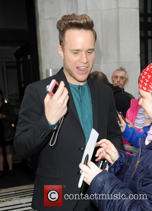 Olly Murs at BBC Radio 2