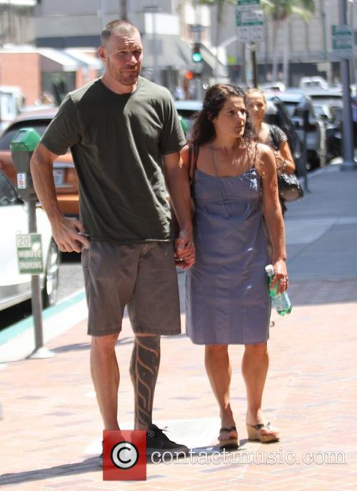 Tim Commerford and Aleece Dimas 2