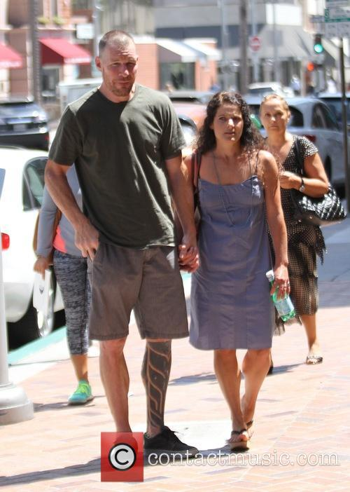 Tim Commerford and Aleece Dimas 6