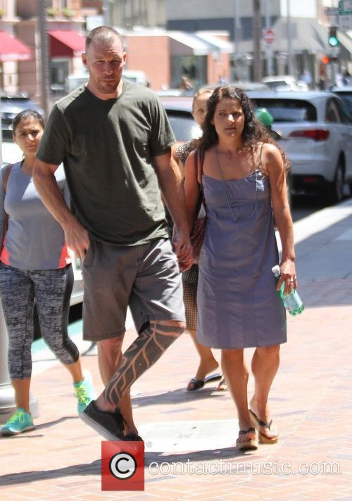 Tim Commerford and Aleece Dimas 7