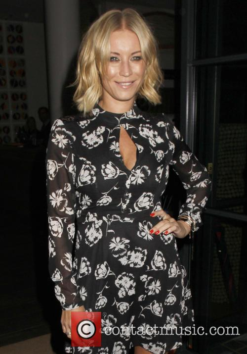Denise van Outen leaves the Ham Yard Hotel