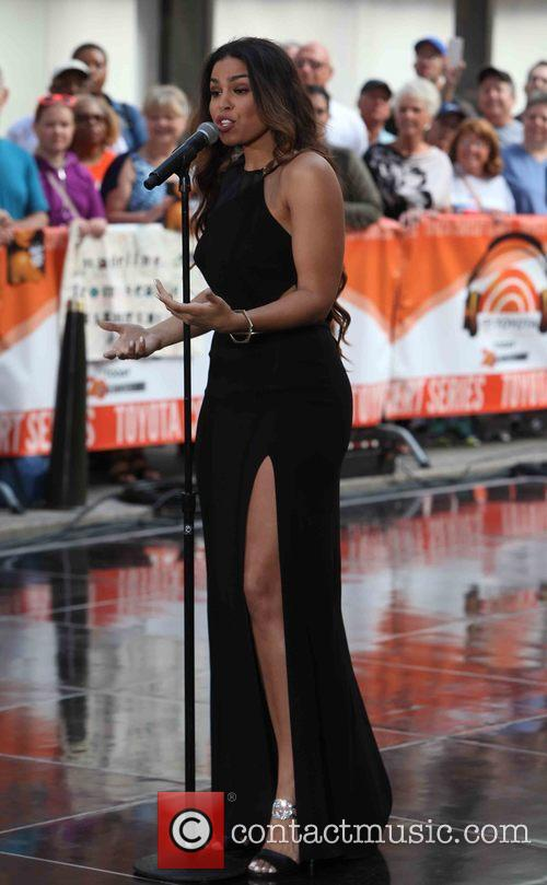 Jordin Sparks performs as part of the NBC...