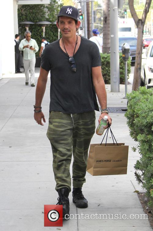 Lukas Haas shops in Beverly Hills