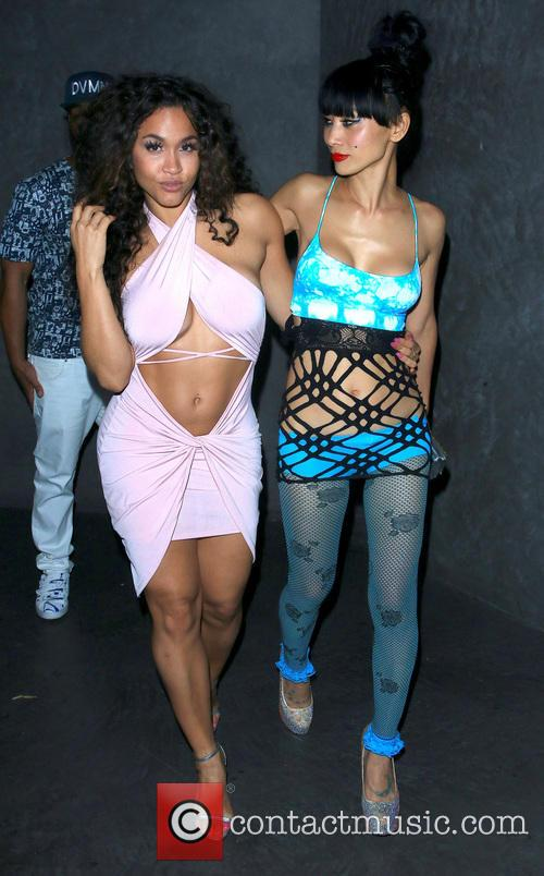 Rosa Acosta and Bai Ling 7