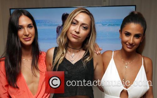 Yiota Karalouka, Brandi Cyrus and Thessy Kouzoukas 1