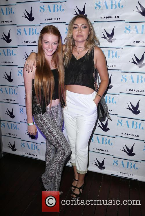 Larsen Thompson and Brandi Cyrus 2