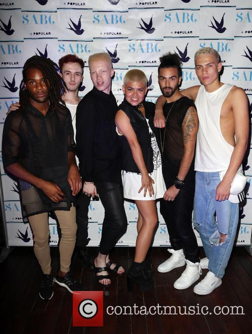 Shaun Ross and Models 2