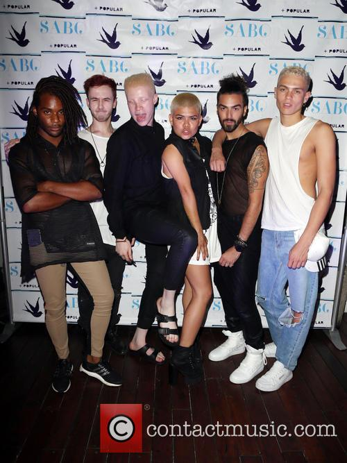 Shaun Ross and Models 3