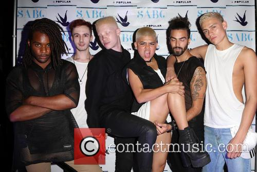 Shaun Ross and Models 4