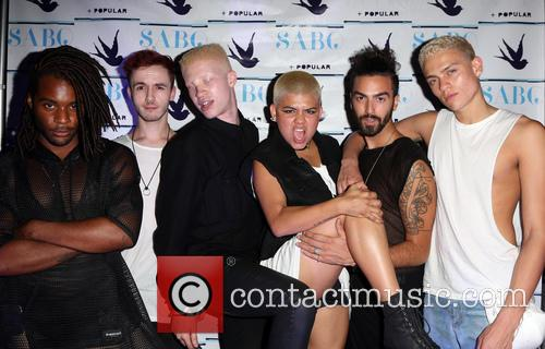 Shaun Ross and Models 5