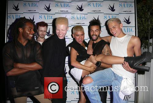 Shaun Ross and Models 6