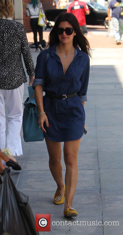 Roxy Sowlaty goes shopping in Beverly Hills