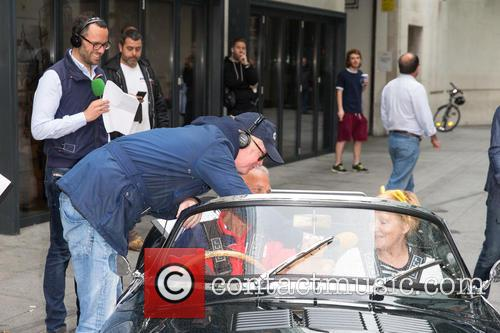 Chris Evans sees off his classic cars 'The...