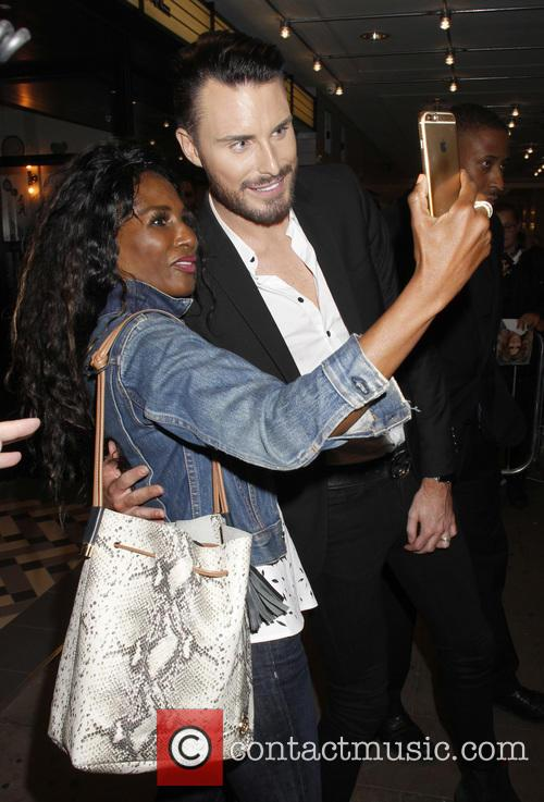 Sinitta and Rylan Clark 2