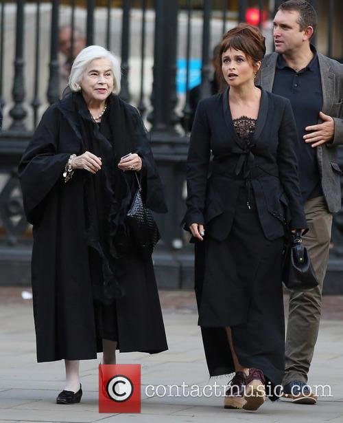 Elena Propper De Callejon and Helena Bonham Carter