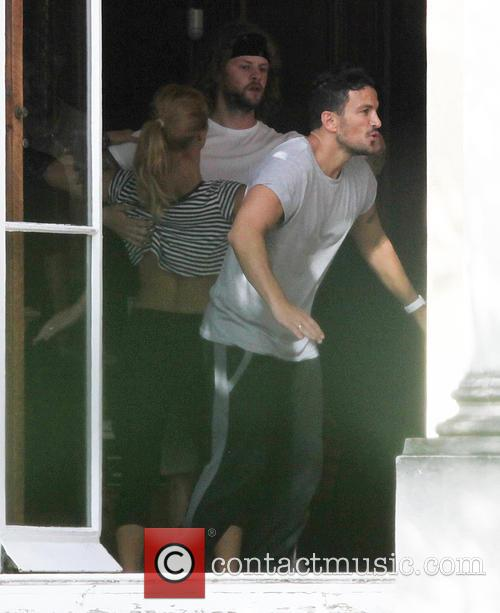 Peter Andre, Aliona Vilani and Jay Mcguiness 1