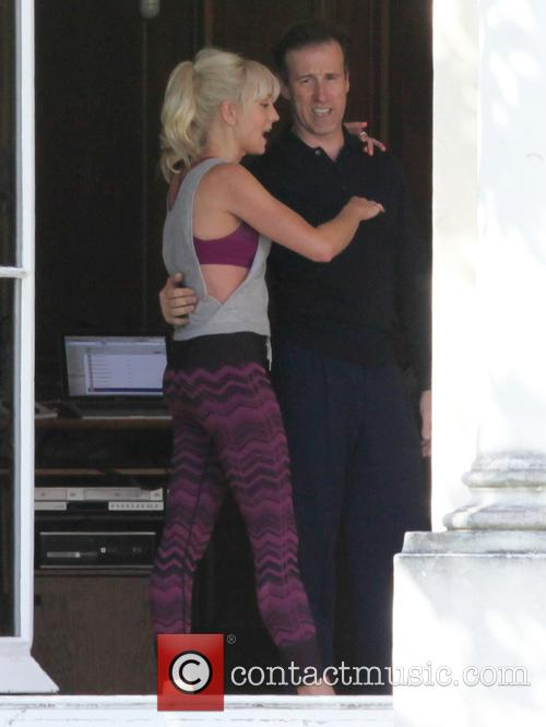 Helen George and Anton Du Beke 6