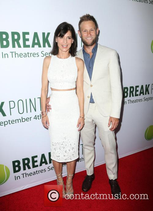 Perrey Reeves and Aaron Endress-fox 2