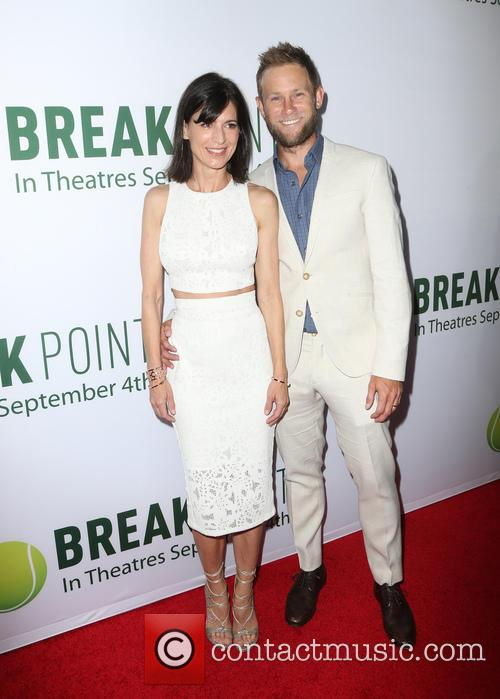 Perrey Reeves and Aaron Endress-fox 3