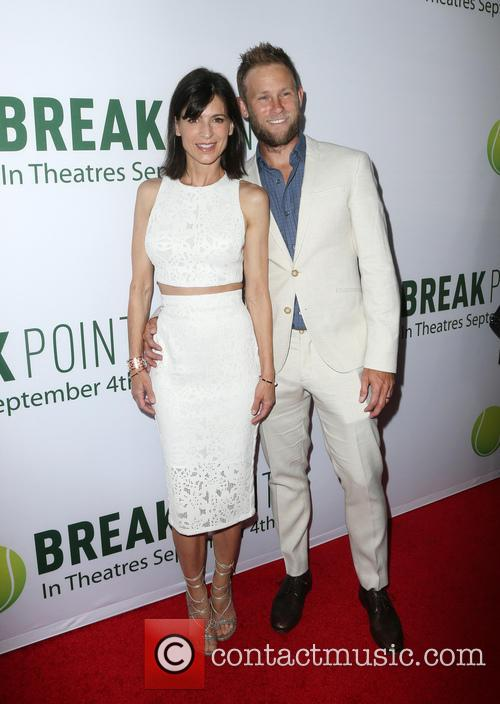 Perrey Reeves and Aaron Endress-fox 9