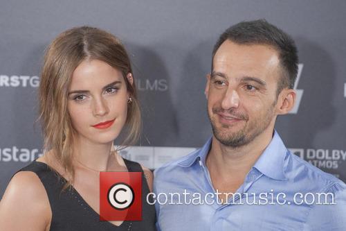 Alejandro Amenabar and Emma Watson 4