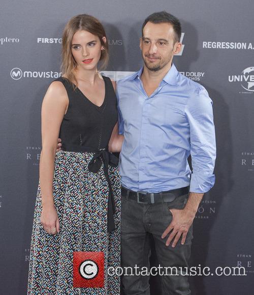 Alejandro Amenabar and Emma Watson 5